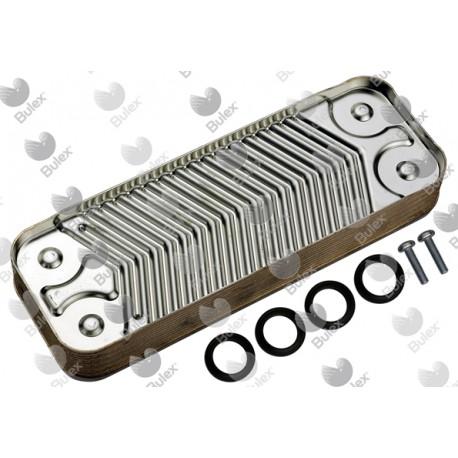 Echangeur sanitaire 12 plaques (remplace réf. S1006000)  Art. S1016600